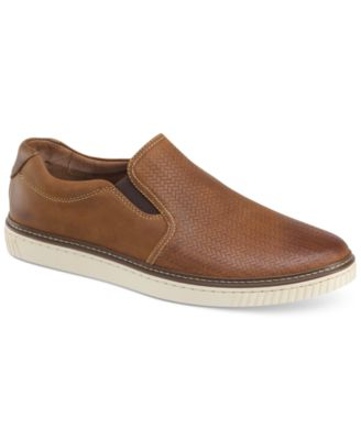johnston and murphy leather sneakers