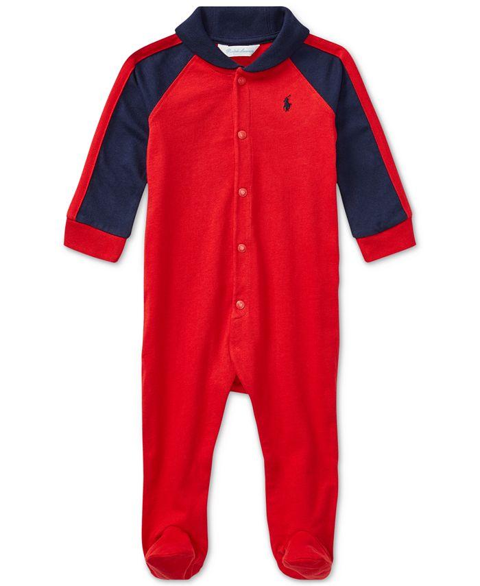 Polo Ralph Lauren - Baby Boys' Striped Coveralls