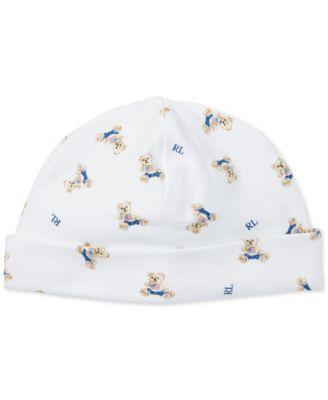Ralph Lauren Baby Boys Printed Cotton Hat