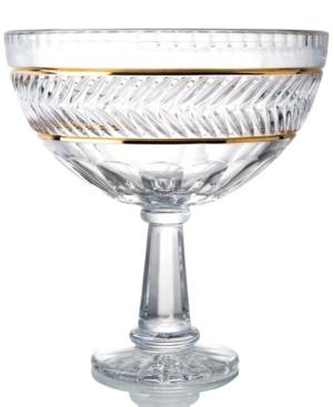 Trump Home Crystal Bowl, Mar-a-Lago Footed