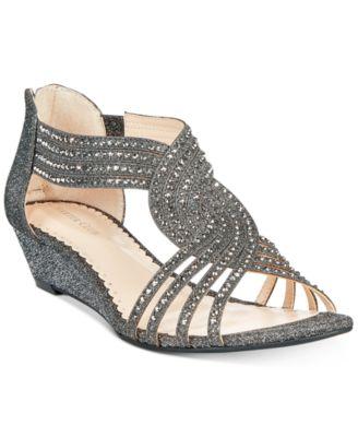 Charter Club Ginifur Wedge Sandals