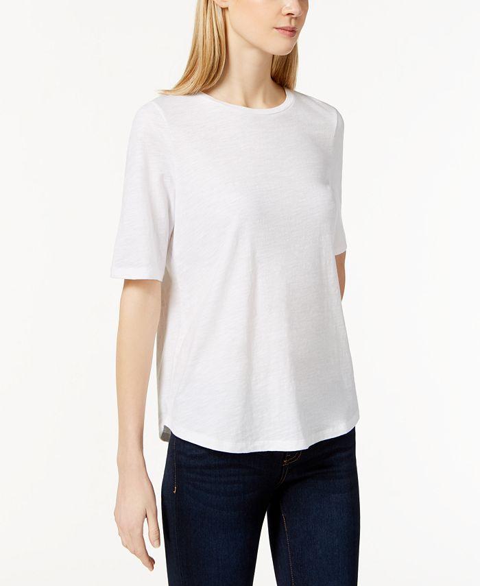Eileen Fisher - Crew-Neck T-Shirt