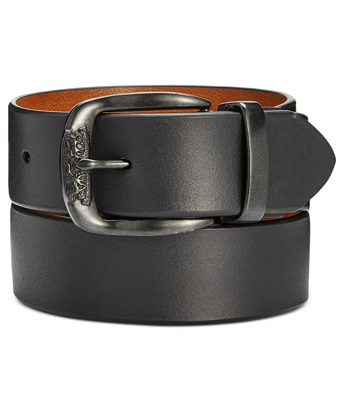 Levi's - Men's Smooth Leather Reversible Belt