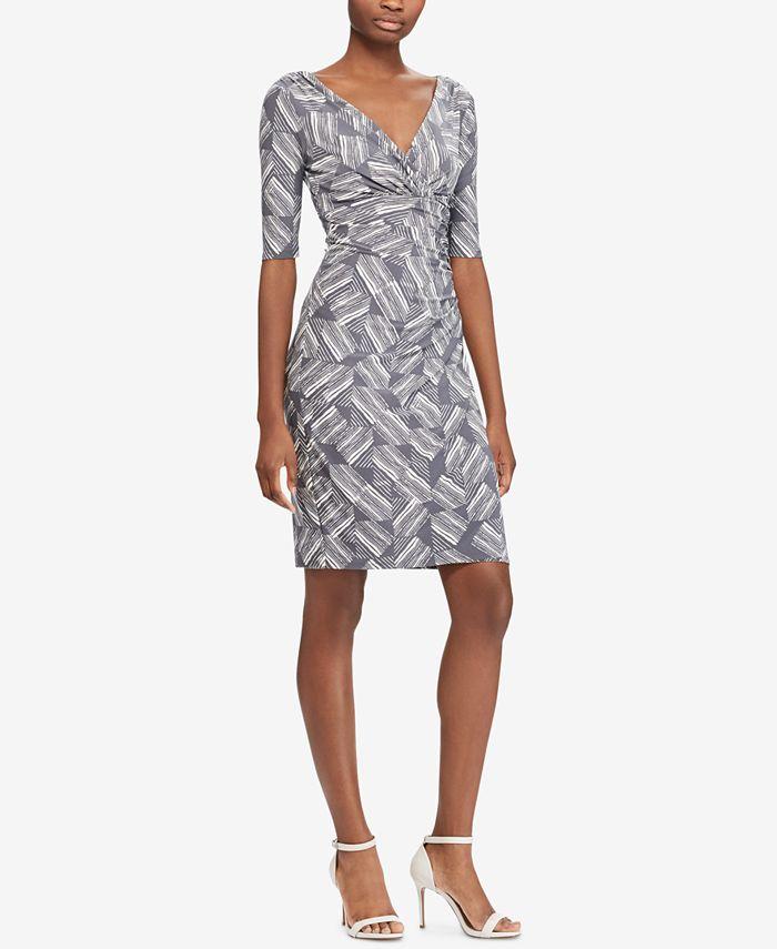 Lauren Ralph Lauren - Printed Slim Fit Dress