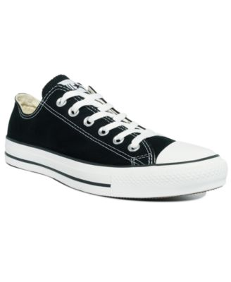macy's black converse