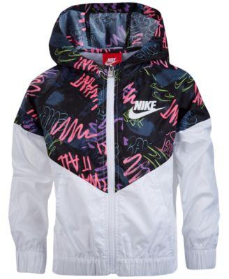 Nike Windrunner Jacket, Little Girls