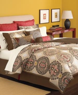 Martha Stewart Collection Bedding, Brick Lane 9 Piece California King Comforter Set Bedding
