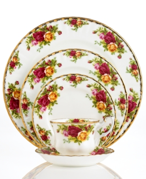 "Royal Albert ""Old Country Roses"" 5-Piece Place Setting"