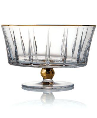 Trump Home Crystal Bowl, Elmsford Footed