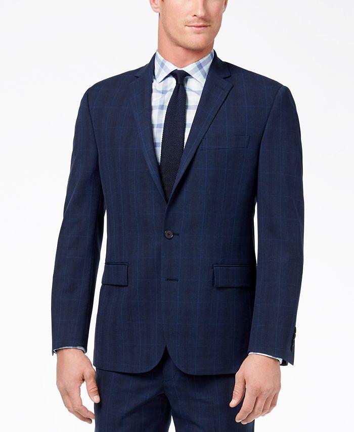 Ryan Seacrest Distinction - Men's Ultimate Modern-Fit Stretch Suit Jacket
