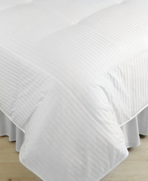 Blue Ridge Bedding, 300 Thread Count Damask Stripe Full/Queen Down Comforter Bedding