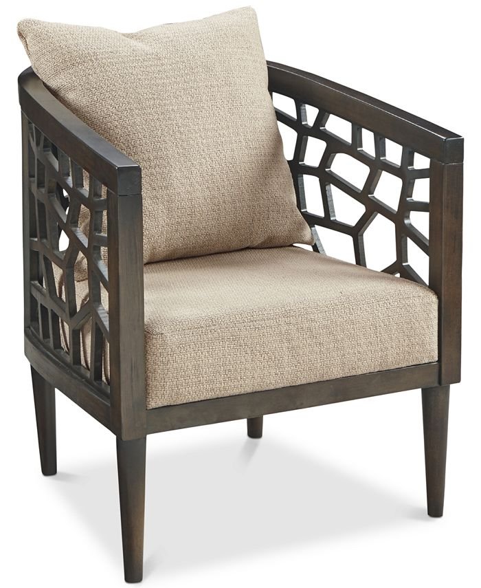 Furniture - Crackle Lounge Chair, Quick Ship