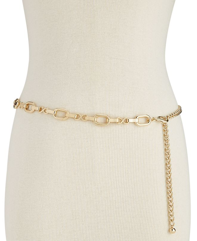 INC International Concepts INC Metal Chain Belt, Created for Macy's