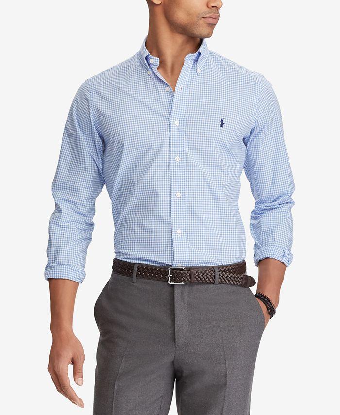 Polo Ralph Lauren - Men's Classic Fit Poplin Shirt