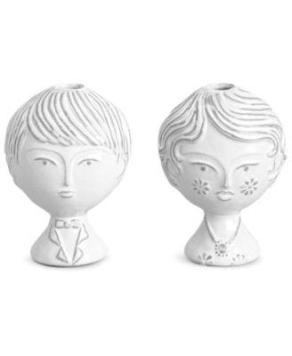 Jonathan Adler Vase, Utopia Boy and Girl Bud Vase