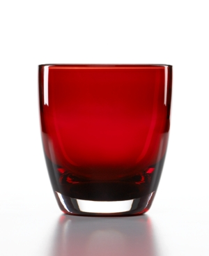 The Cellar Glassware, Set of 4 Talia Red Double Old Fashioned Glasses
