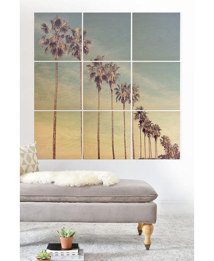 Deny Designs Bree Madden California Summer 9 Pc Printed Wood Wall Mural Reviews Wallpaper Home Decor Macy S