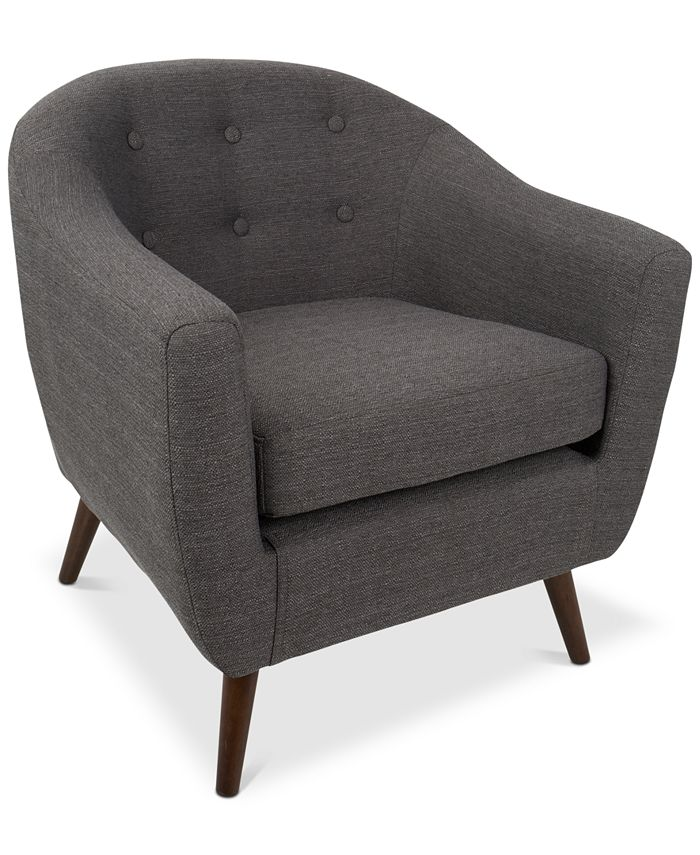 Lumisource - Rockwell Accent Chair, Quick Ship
