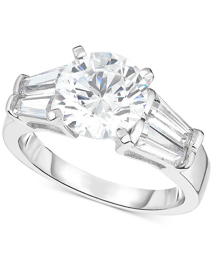 Arabella - Swarovski Zirconia Ring in Sterling Silver