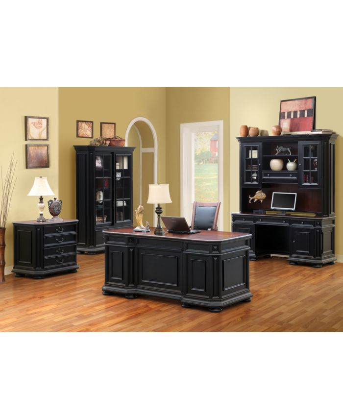 Furniture Beekman Home Office Lateral File Cabinet & Reviews - Furniture - Macy's