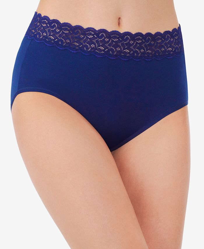 Vanity Fair - Flattering Lace Stretch Brief 13396
