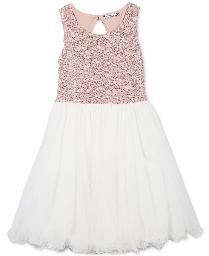 Speechless - Sequin Party Dress, Big Girls Plus