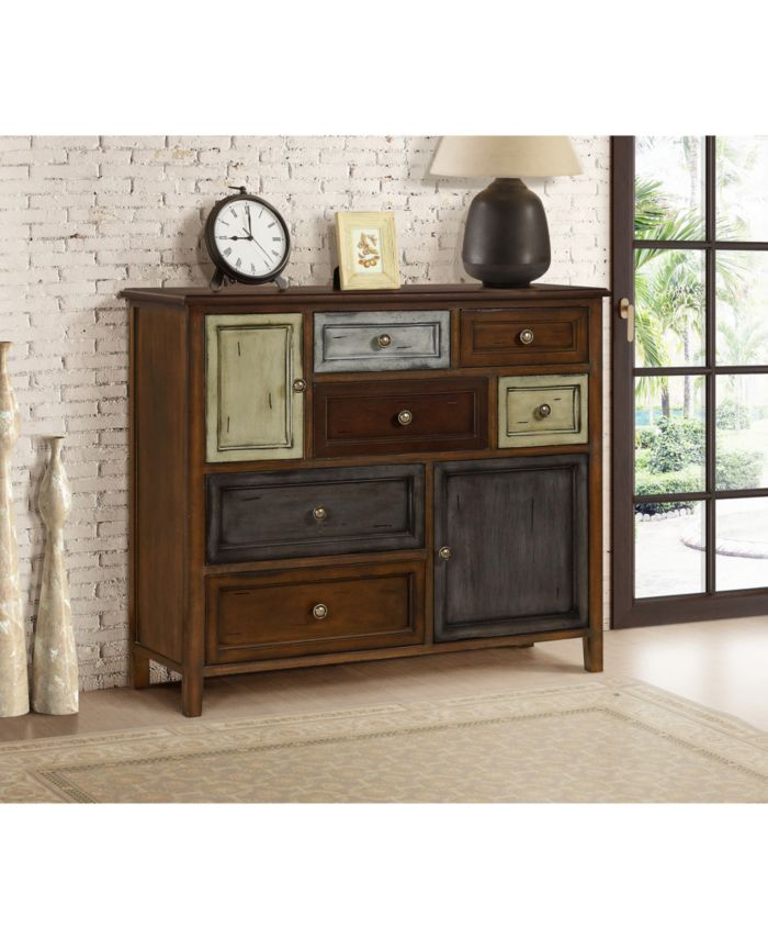 Gallerie Décor Aggi 8-Drawer Cabinet & Reviews - Furniture - Macy's