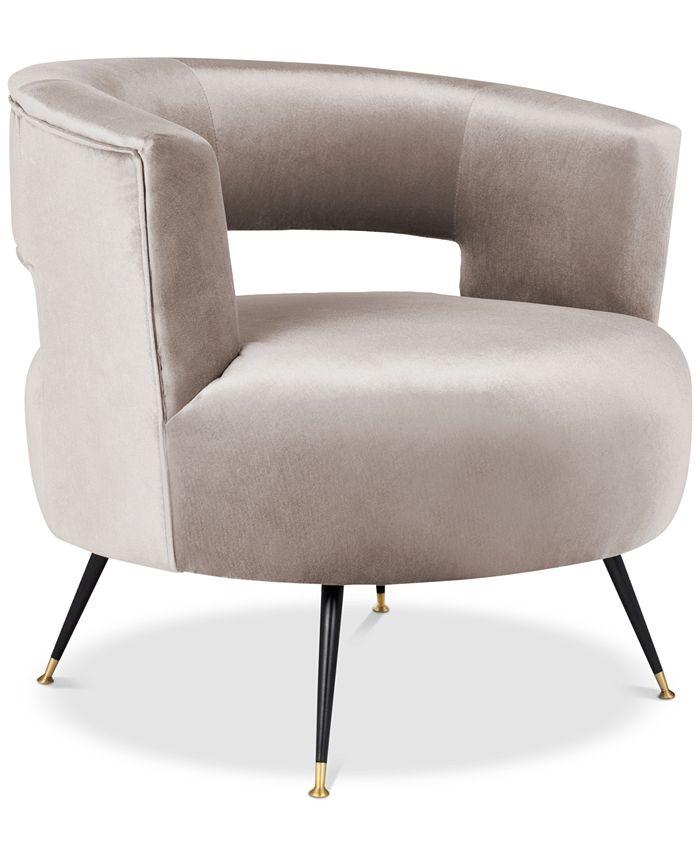 Safavieh - Kortnee Accent Chair, Quick Ship