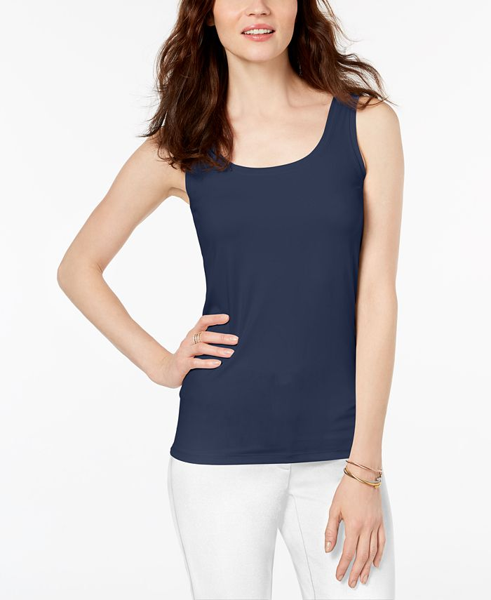 Alfani - Scoop-Neck Basic Tank