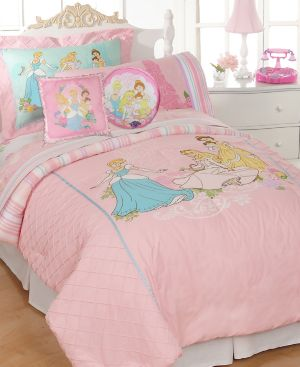 Disney Bedding, Kids Disney Princesses Twin Comforter Set Bedding