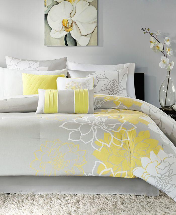 Madison Park - Lola 7-Pc. Queen Comforter Set