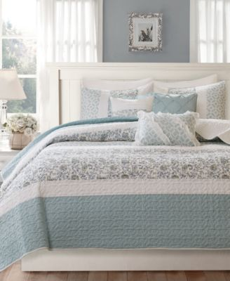 Dawn 6-Pc. Quilted Full/Queen Coverlet Set