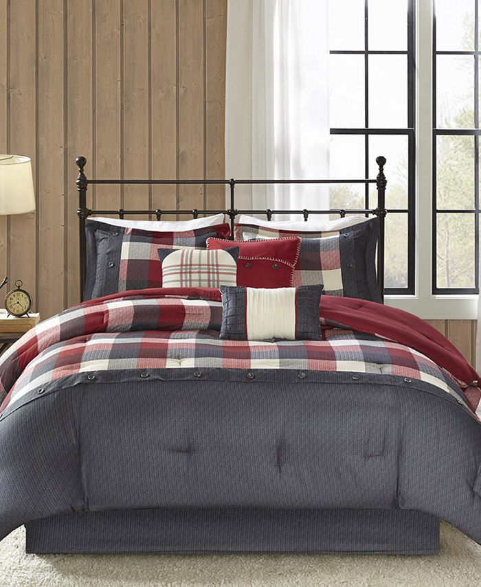 Madison Park - Ridge 7-Pc. King Comforter Set