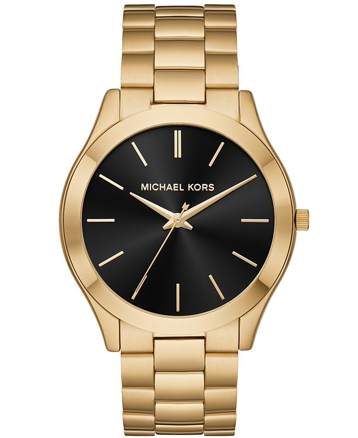 Michael Kors - Men's Slim Runway Stainless Steel Bracelet Watch 44mm