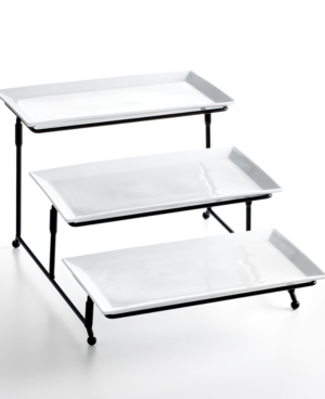 the cellar serveware, whiteware 3 tier server