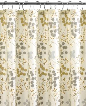Martha Stewart Collection Bath Accessories, Garden Glimmer Shower Curtain