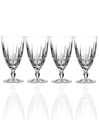 Marquis by Waterford Sparkle Stemware, Set of 4 Iced Beverage Glasses