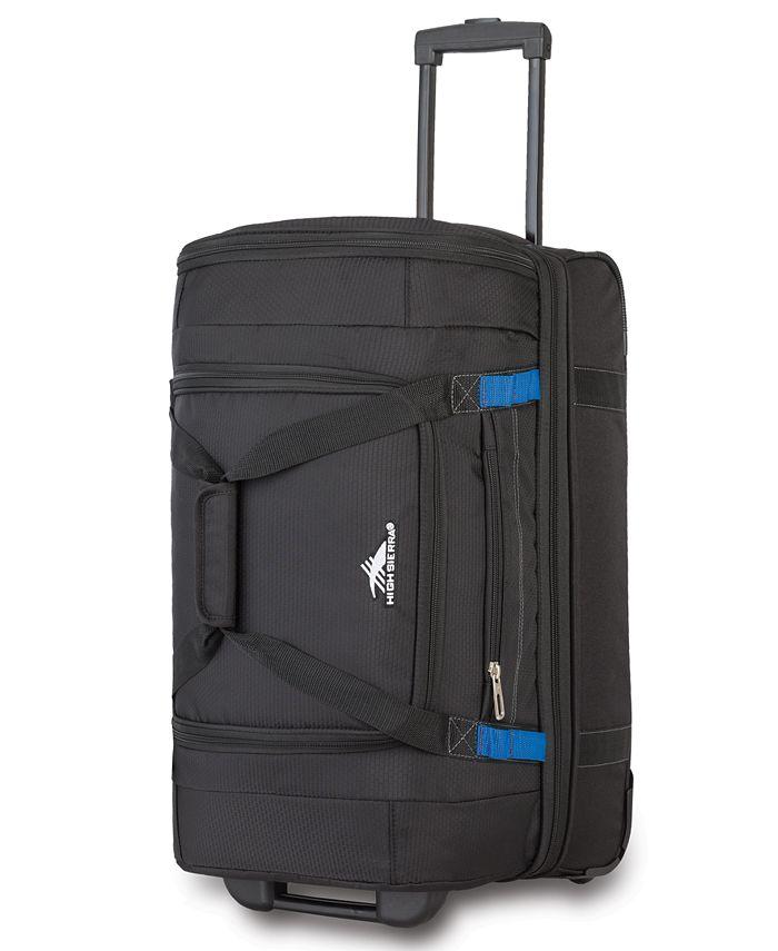 "High Sierra - 22"" Wheeled Drop-Bottom Duffel Bag"