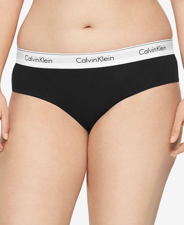 Calvin Klein - Plus Size Modern Cotton Logo Hipster QF5118