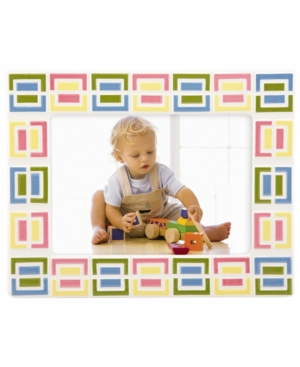 """Gorham Picture Frame, Merry Go Round Pitter Patter Block 5"""" x 7"""""""