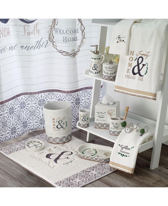 Avanti Modern Farmhouse Bath Collection Reviews Bathroom Accessories Bed Macy S