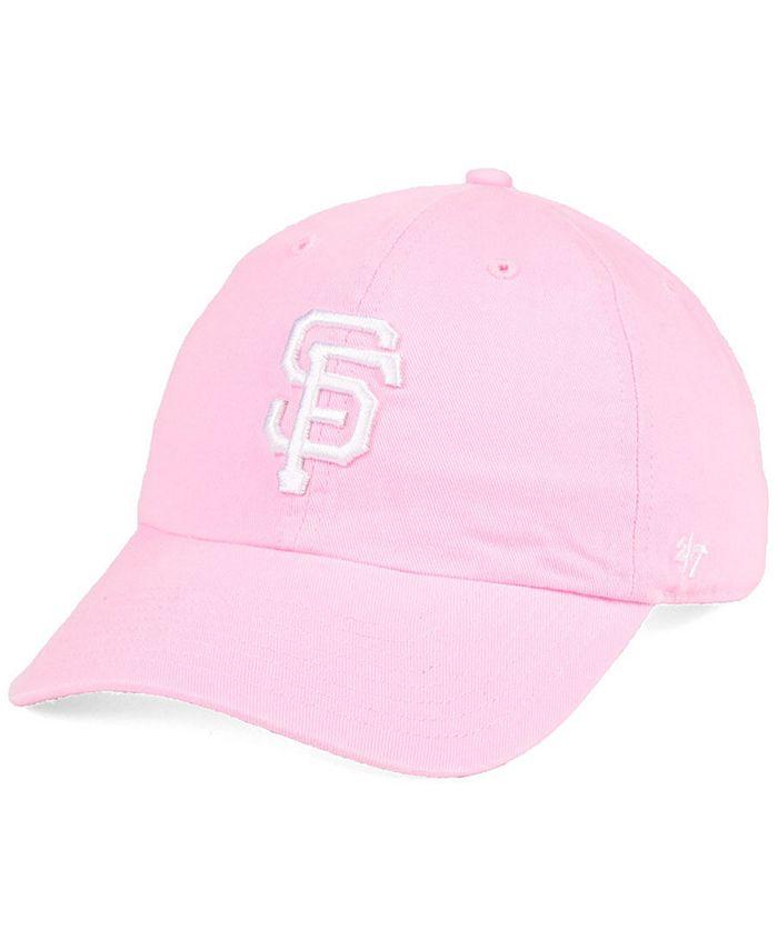 '47 Brand - Pink CLEAN UP Strapback Cap