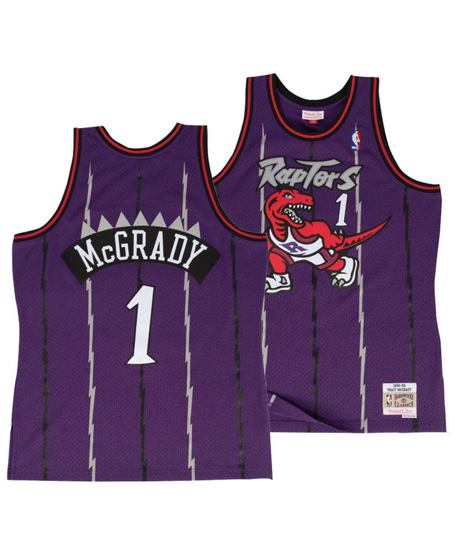 Mitchell & Ness Men's Tracy McGrady Toronto Raptors Hardwood Classic Swingman Jersey & Reviews - Sports Fan Shop By Lids - Men - Macy's