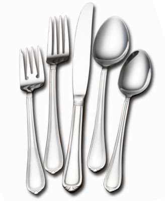 Towle Living Flatware, Jasmine 77 Piece Set