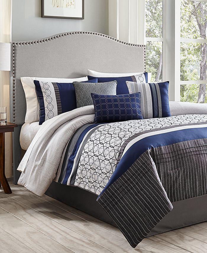 Hallmart Collectibles - Wrener 7-Pc. Queen Comforter Set