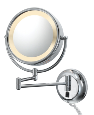 Aptations 95375 95345 Mirror, Magnified Lighted Wall Makeup