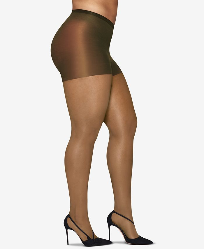 Hanes - Curves Plus Size Silky Sheer Pantyhose
