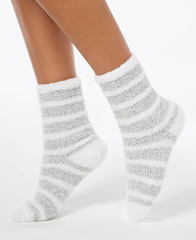 Charter Club Marled Stripe Super Soft Cozy Socks, Created for Macy's