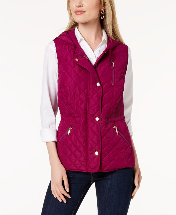 Charter Club - Quilted Hooded Vest