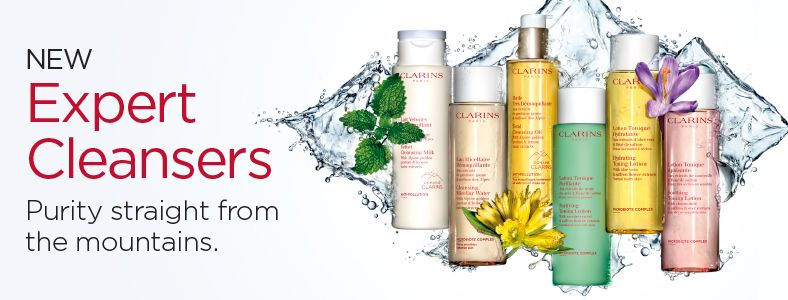 New Expert Cleansers, Purity straight from the mountains